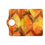 Fall Colors Leaves Pattern Kindle Fire HD (2013) Flip 360 Case Front