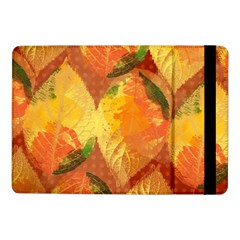 Fall Colors Leaves Pattern Samsung Galaxy Tab Pro 10 1  Flip Case