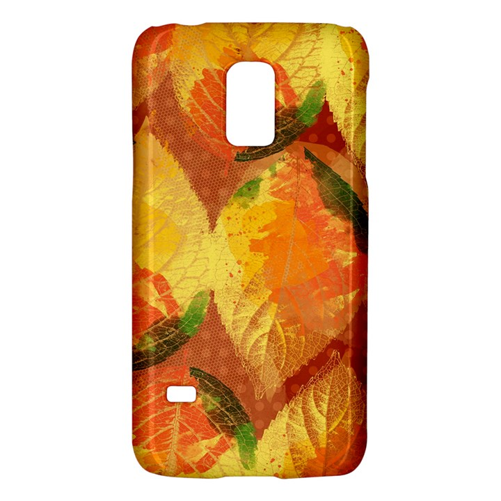 Fall Colors Leaves Pattern Galaxy S5 Mini
