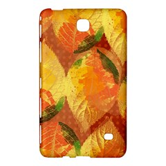 Fall Colors Leaves Pattern Samsung Galaxy Tab 4 (7 ) Hardshell Case  by DanaeStudio