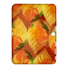 Fall Colors Leaves Pattern Samsung Galaxy Tab 4 (10 1 ) Hardshell Case