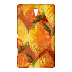 Fall Colors Leaves Pattern Samsung Galaxy Tab S (8 4 ) Hardshell Case