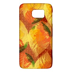 Fall Colors Leaves Pattern Galaxy S6 by DanaeStudio