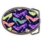 Colorful High Heels Pattern Belt Buckles