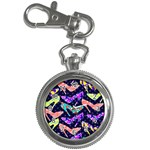 Colorful High Heels Pattern Key Chain Watches