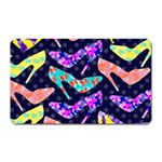 Colorful High Heels Pattern Magnet (Rectangular)