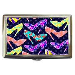 Colorful High Heels Pattern Cigarette Money Cases by DanaeStudio