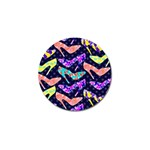 Colorful High Heels Pattern Golf Ball Marker (4 pack) Front