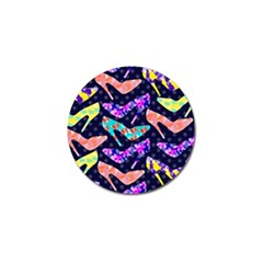 Colorful High Heels Pattern Golf Ball Marker (10 Pack) by DanaeStudio