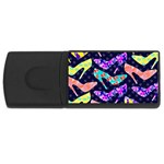 Colorful High Heels Pattern USB Flash Drive Rectangular (4 GB)