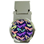 Colorful High Heels Pattern Money Clip Watches Front