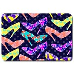 Colorful High Heels Pattern Large Doormat