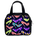 Colorful High Heels Pattern Classic Handbags (2 Sides)