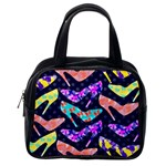 Colorful High Heels Pattern Classic Handbags (2 Sides) Back