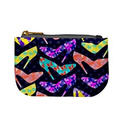 Colorful High Heels Pattern Mini Coin Purses by DanaeStudio