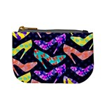 Colorful High Heels Pattern Mini Coin Purses Front