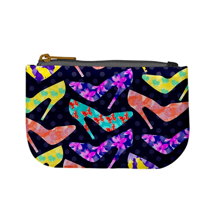 Colorful High Heels Pattern Mini Coin Purses