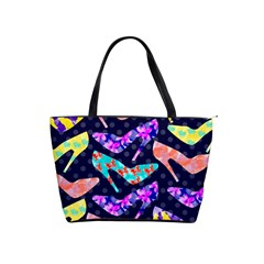 Colorful High Heels Pattern Shoulder Handbags by DanaeStudio