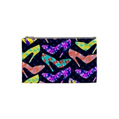 Colorful High Heels Pattern Cosmetic Bag (small)  by DanaeStudio