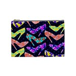 Colorful High Heels Pattern Cosmetic Bag (Medium)