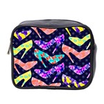 Colorful High Heels Pattern Mini Toiletries Bag 2-Side