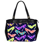 Colorful High Heels Pattern Office Handbags (2 Sides)  Front