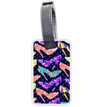 Colorful High Heels Pattern Luggage Tags (One Side)  Front