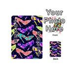 Colorful High Heels Pattern Playing Cards 54 (Mini)  Front - Joker1
