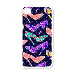 Colorful High Heels Pattern Apple iPhone 4 Case (White)
