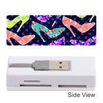 Colorful High Heels Pattern Memory Card Reader (Stick)