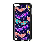 Colorful High Heels Pattern Apple iPod Touch 5 Case (Black) Front