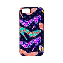Colorful High Heels Pattern Apple Iphone 5 Classic Hardshell Case (pc+silicone) by DanaeStudio