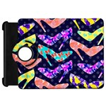 Colorful High Heels Pattern Kindle Fire HD Flip 360 Case
