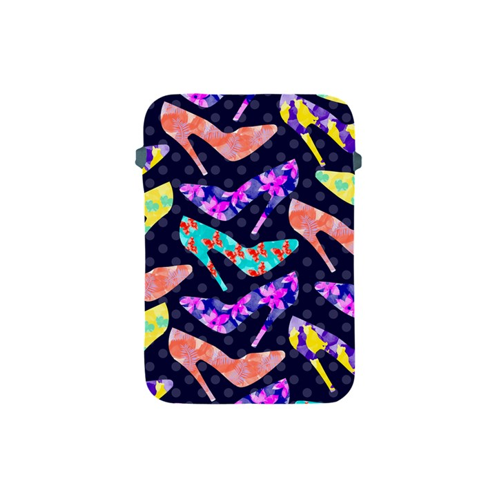 Colorful High Heels Pattern Apple iPad Mini Protective Soft Cases
