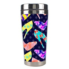 Colorful High Heels Pattern Stainless Steel Travel Tumblers by DanaeStudio