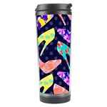 Colorful High Heels Pattern Travel Tumbler Left