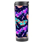 Colorful High Heels Pattern Travel Tumbler Center
