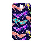 Colorful High Heels Pattern Samsung Galaxy S4 I9500/I9505  Hardshell Back Case