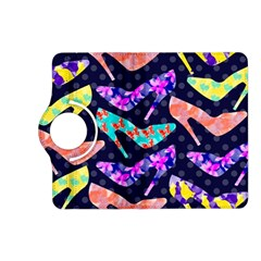 Colorful High Heels Pattern Kindle Fire Hd (2013) Flip 360 Case