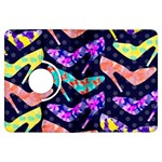 Colorful High Heels Pattern Kindle Fire HDX Flip 360 Case Front