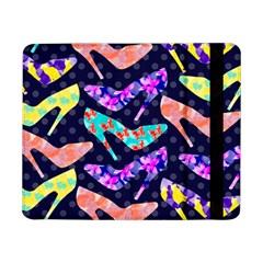 Colorful High Heels Pattern Samsung Galaxy Tab Pro 8 4  Flip Case by DanaeStudio