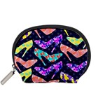 Colorful High Heels Pattern Accessory Pouches (Small)
