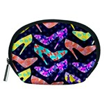 Colorful High Heels Pattern Accessory Pouches (Medium)