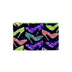 Colorful High Heels Pattern Cosmetic Bag (XS)