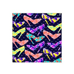 Colorful High Heels Pattern Satin Bandana Scarf by DanaeStudio