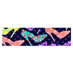 Colorful High Heels Pattern Satin Scarf (Oblong)