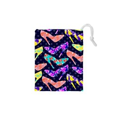 Colorful High Heels Pattern Drawstring Pouches (xs)  by DanaeStudio