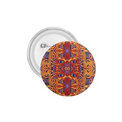 Oriental Watercolor Ornaments Kaleidoscope Mosaic 1 75  Buttons by EDDArt