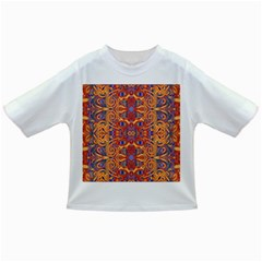 Oriental Watercolor Ornaments Kaleidoscope Mosaic Infant/toddler T Shirts