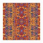 Oriental Watercolor Ornaments Kaleidoscope Mosaic Medium Glasses Cloth (2-Side)